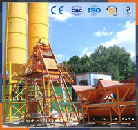HZS60 -60M3/H trailer HZS60mobile concrete batch plant,mobile simple concrete batch plant