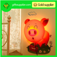New Designed 3D wallpaper lamp,Best Cartoon style light color 3D led night light wallpaper paste wall lamps