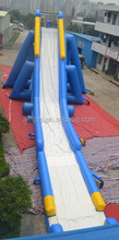 new inflatable buy a water slide with double lane slip and climbing
