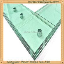 toughened laminated glass panles 10.38mm 10.76mm 12.38mm 12.76mm 16.76mm 17.14mm 21.52mm tempered glass laminated