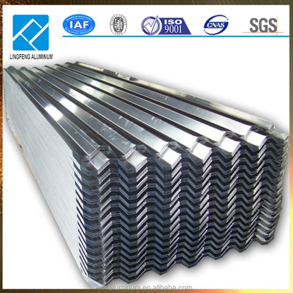 Chinese Hot Sale Corrugated Aluminum Sheet Metal for Ceiling, Roofing and Architectural