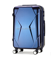 shining abs+pc trolley luggage 3 pcs set