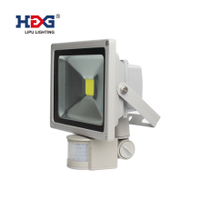 LED Motion Sensor Floodlight 20W Waterproof LED PIR Sensor Security Lights, 6000K, 1500 Lumen, Adjustable Lighting Duration