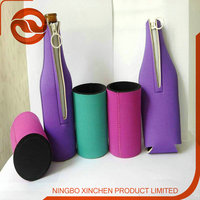 Wine Use and PU Material bottle cover/hot water bottle clothing