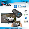 Vensmile V5II Better than chromecast dongle ezchrome dongle share screen smart phone tablet pc to tv