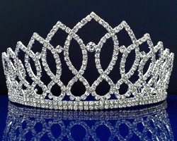 Wholesale Tiara Crown Wedding Bridal Crystal Rhinestone Headband Crown Comb Tiara Prom Pageant Jewelry