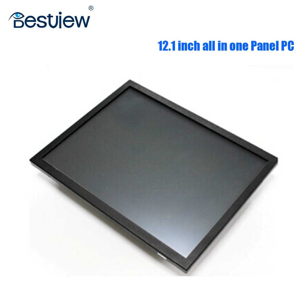 core i5 128G SSD 10 inch all in one touch Panel PC Membrane keys
