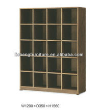 Melamine board storage cabinet without doors