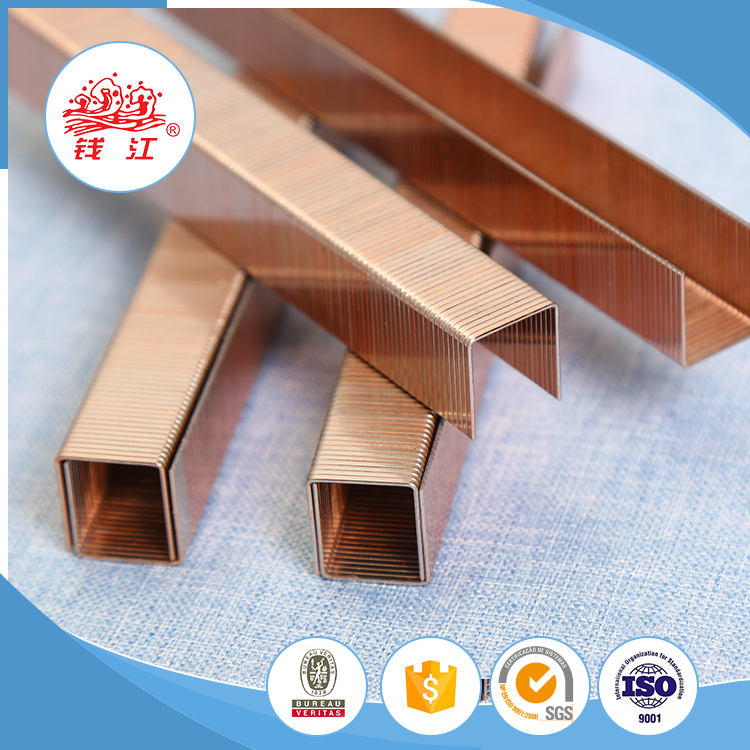 Hot sale Qianjiang 80 series upholstery staples 8004 stainless steel nails