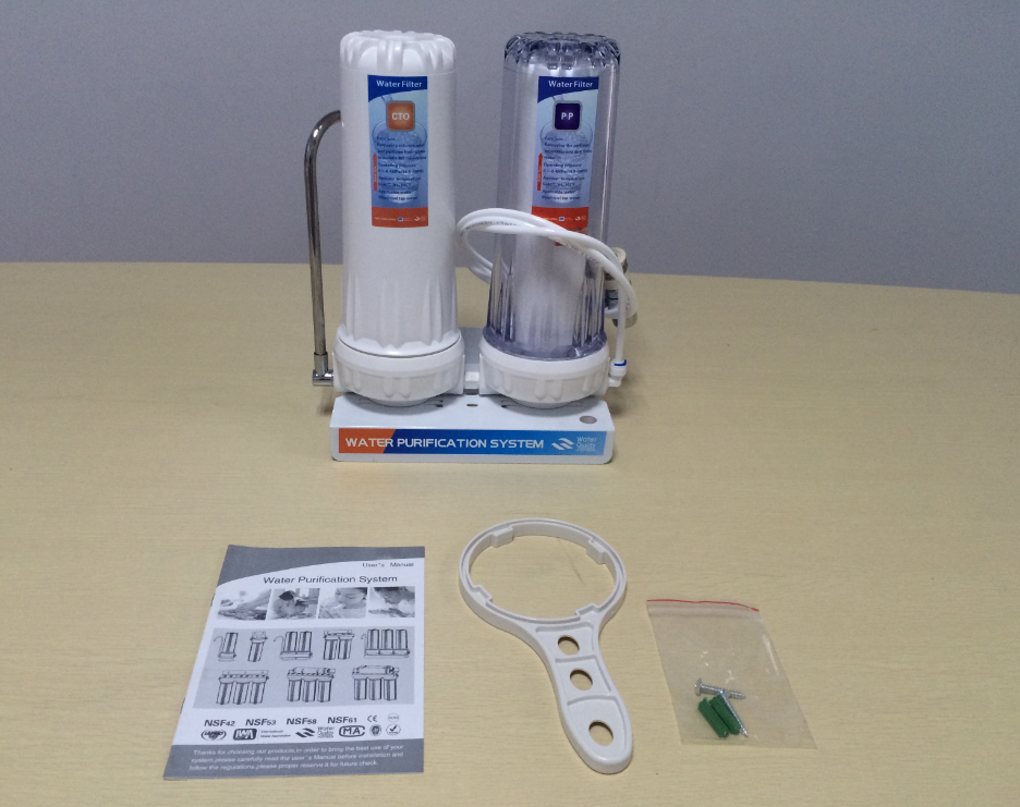 Factory price good quality UF water purifier system/Single stage water filter machine
