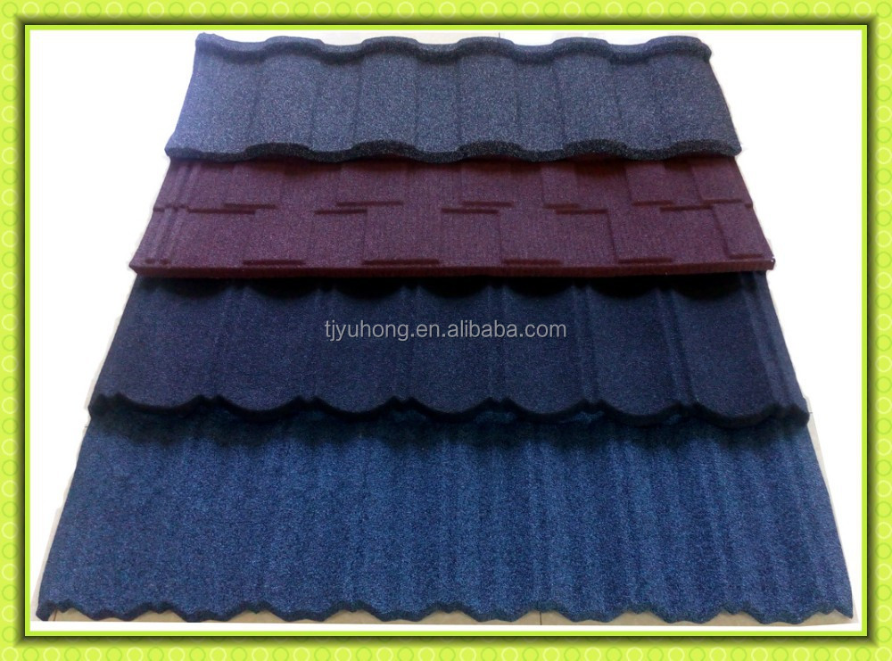 Color Stone coated steel roofing tile / Roofing Material