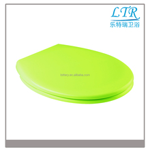 Cheap modern designs thin wc funny toilet seats tank cover / lids