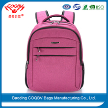 COQBV 2017 wholesale fashion soft nylon laptop backpack