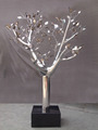 Stainless steel modern metal tree sculpture stainless steel outdoor sculpture