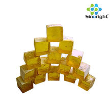 WW grade gum rosin used as adhesive for used in paper