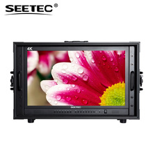 SEETEC ultra-high definition 4K 3G-SDI HDMI carry on ips monitor 24 for studio or field