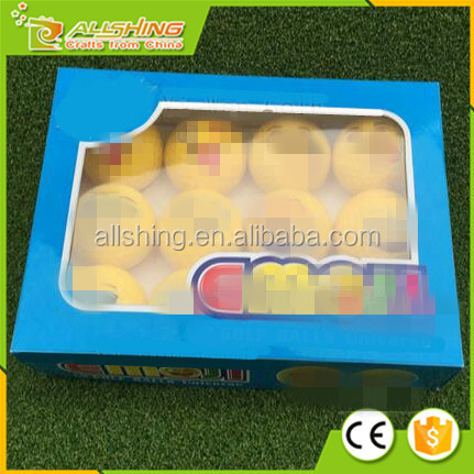 Wholesale Customized Logo Colorful Emoji golf ball .emoji Universe 2-Ply Professional Practice Golf Balls