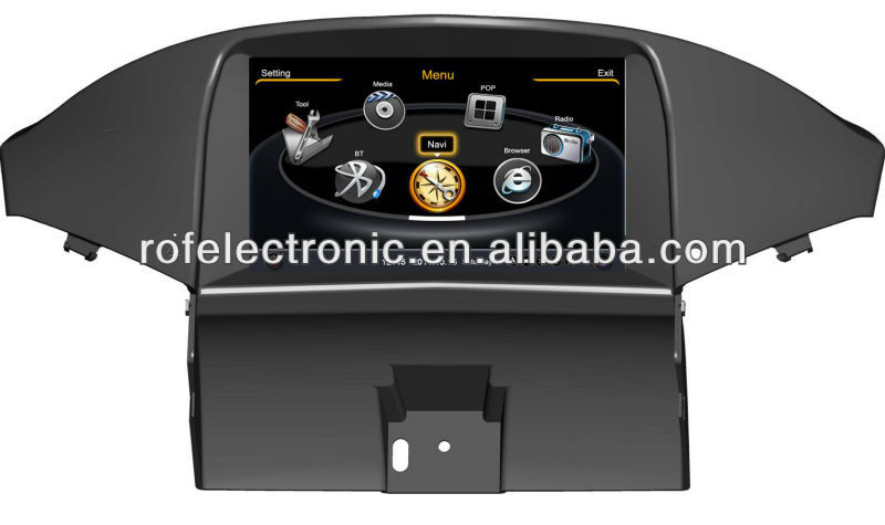 8'' Auto Car DVD GPS Navigation Navi Bluetooth Radio for 2012 Chevrolet Captiva