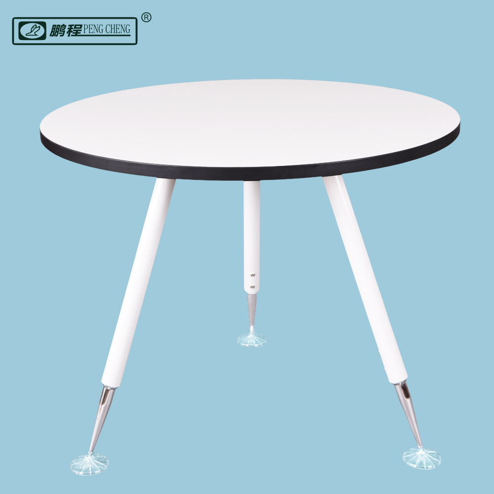 2016 Amazon Best Seller Dia 900mm Modern Wooden Round Table white