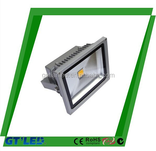 12V DC 10W LED Flood light Warm White Floodlight 3000K Grey Case 1M 39.37ft cable wire