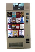 Big storage automatic magazine/book/dvd vending machine