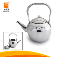 Customized Indian Cookware Water Tea Kettle For Stainless Steel Tea Pot Sets