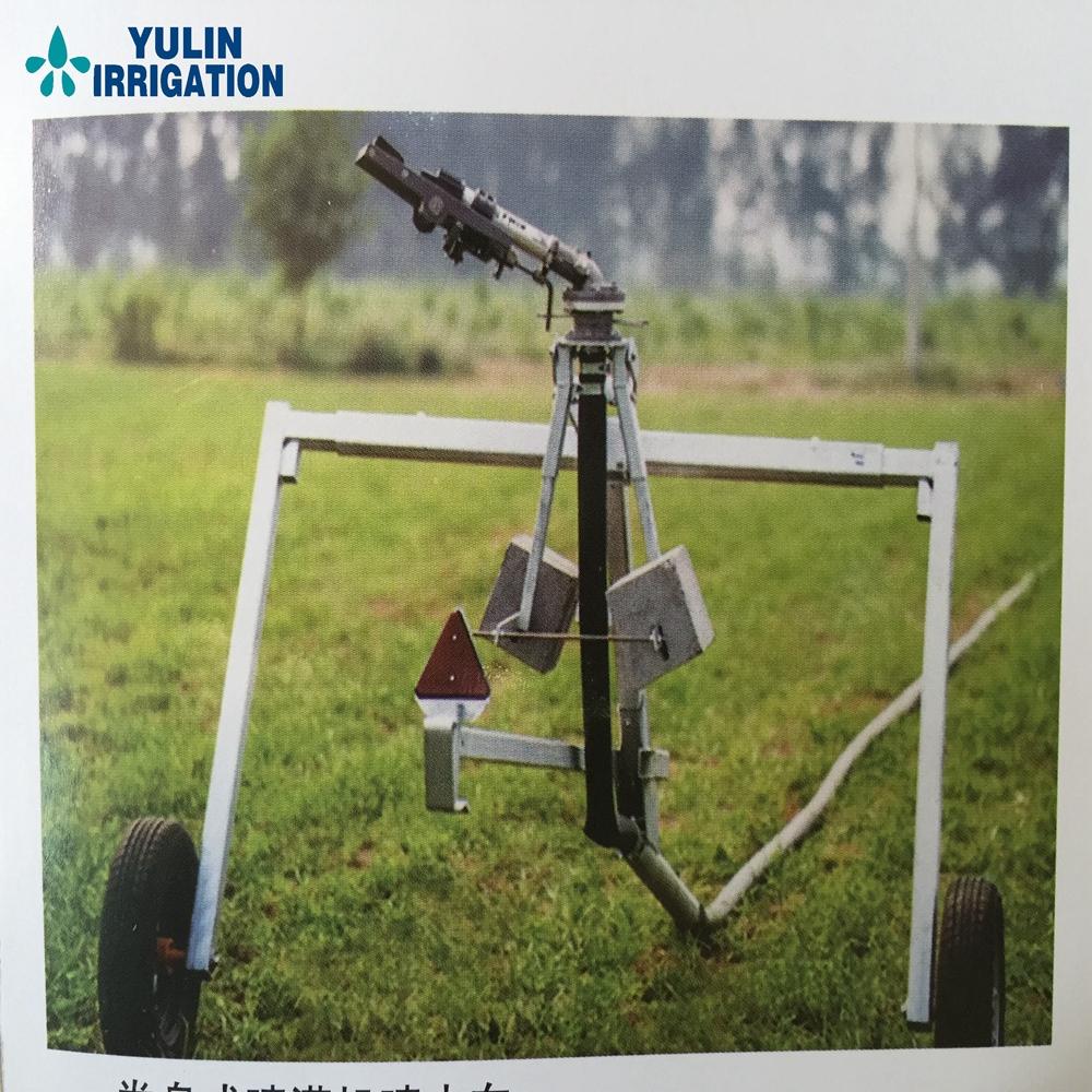 Agricultural hose reel irrigation system machine for farm