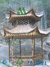 large bamboo pavillion/large bamboo gazebo/bamboo house