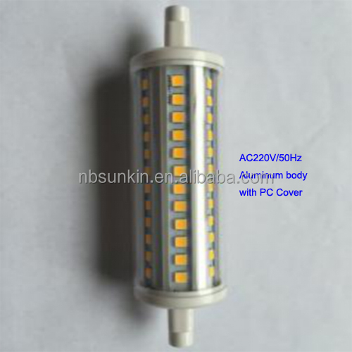 High lumen 5630 led chip r7s led with 3 years warranty flood light r7s