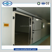 deep freezer room used as a fishing equipment for cold storage