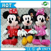 Surper quality!!!Movie costume mickey mouse plush toy,mickey mouse plush toy wholesale
