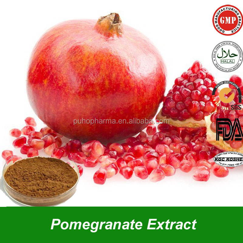 High Grade Pomegranate Seed Extract Powder Pomegranate Seed Extract with Ellagic acid, Punicalagin for Antioxidation