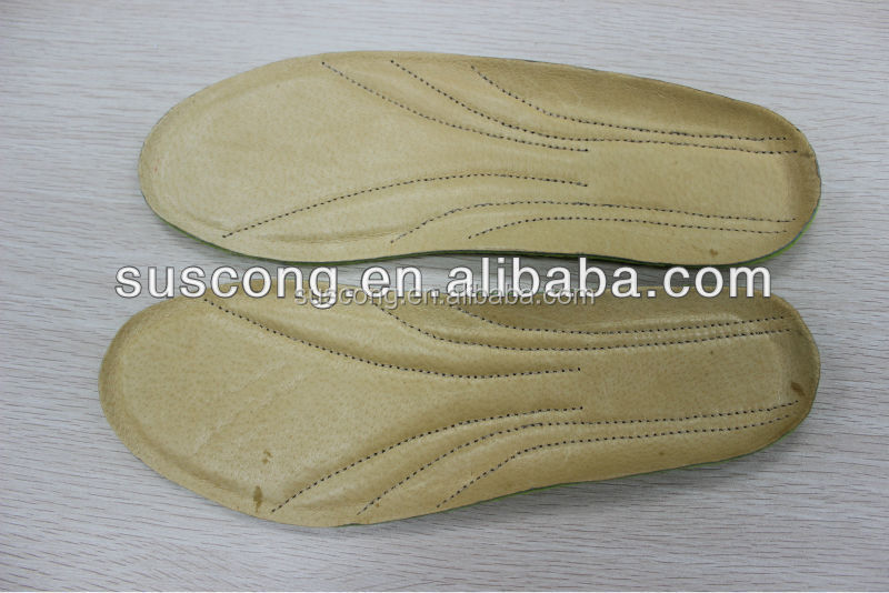 Confortable Absorbs moisture and Prevent slipping felt embroidery and pigskin insole