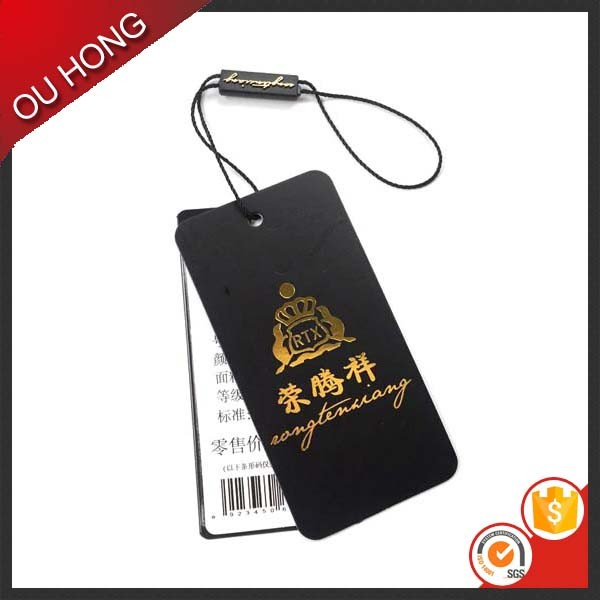Wholesale Custom Embossed Business Card, Debossed Hang Tag, Swing Tag