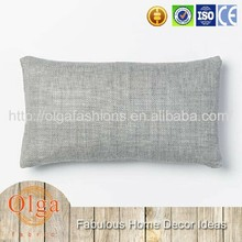 multicolor solid printing linen cushion cover