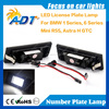 Z4 M6 E81,E87,E87N,E63,E63N E64(M6),E64N LED License Plate Light white