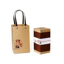 Kraft paper colorful gift bags christmas brown kraft paper bags for garment