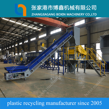 Plastic pp film recycling equipment made in China