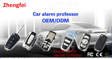 ZF OEM/ODM Mini 433 HZ RF Car Professor Remote control with Key Ring Metal+PVC Materials receiving module motorcycle anti-theft