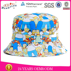 Custom Wholesale Blank Bucket Hat Free Pattern Children Bucket Hat