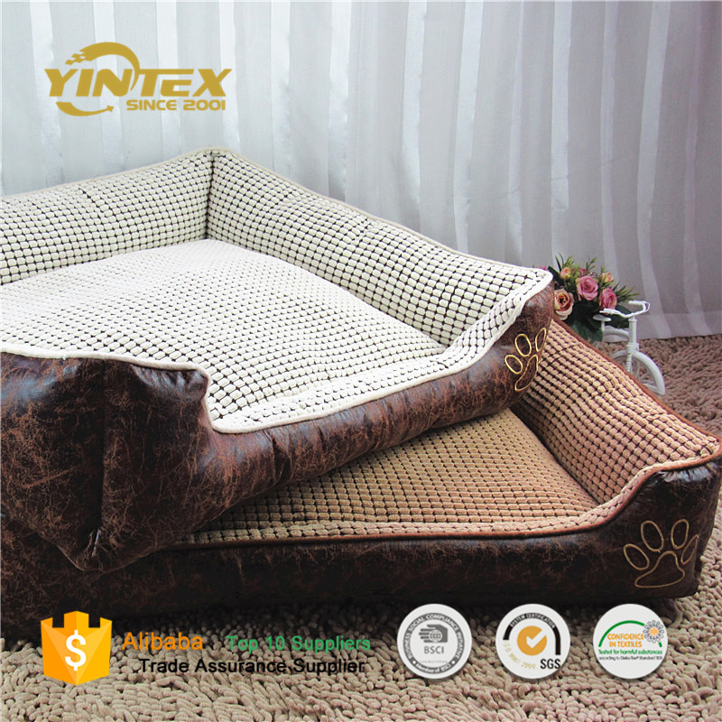 Wholesale Luxury Water Proof Oxford Pet Bed Dog Bed cushion