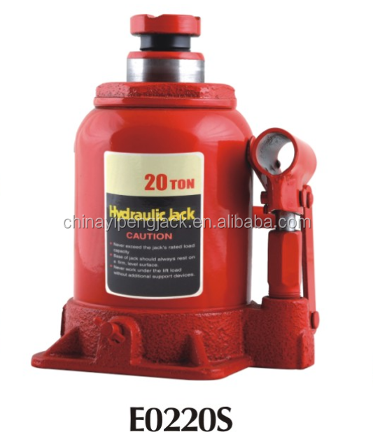 20Ton durable short bottle jack