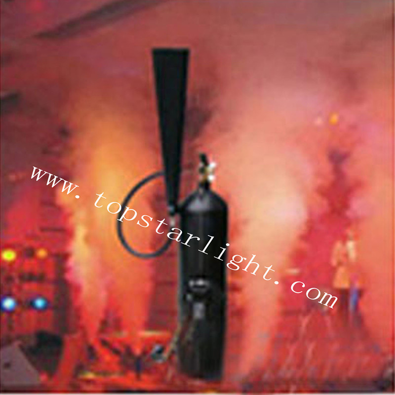 2017 Smoke fog effect DMX party effect CO2 jet column machine stage effect CO2 Jet machine <strong>LED</strong> CO2 Jet for stage TSL011