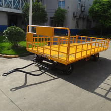 Airport Baggage Trolley Luggage Trailer Cargo Cart