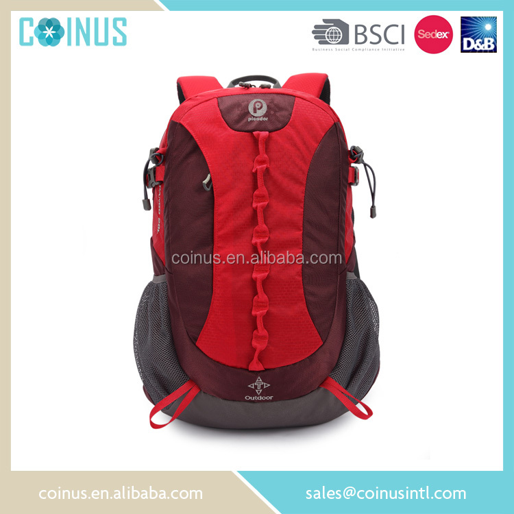 China supplier camping equipment teens nylon backpack