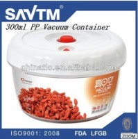 300ml PP vacuum airtight food house container