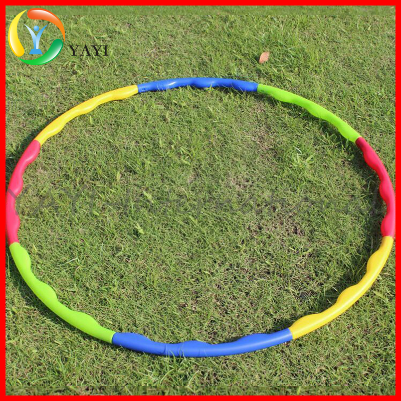Fitness removable hula hoop