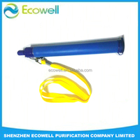 1000L Water Purifier Filter Life Survival Emergency Drink Straw