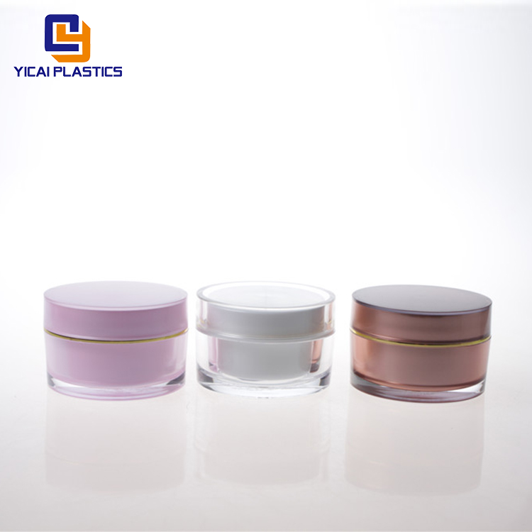 Wholesale luxury special <strong>design</strong> colorful Cosmetic Jar