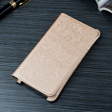 Horizontal PU Leather Bag Universal Mobile Phone Pouch Wood Grain Cases for Huawei P9 for Sony Xperia XA Ultra